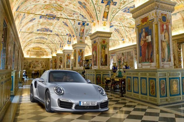 Report: Porsche becomes first company to rent out Vatican's Sistine Chapel