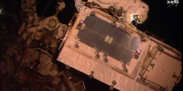 Thomas Pesquet dans l'espace : les images de sa première sortie