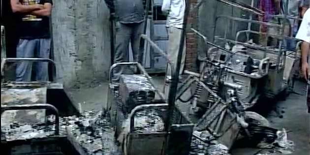3 killed in major fire in Shahdara