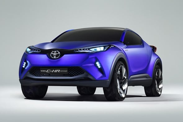 C-HR, Crossover, CUV, featured, Pariser Auto Salon, Teaser, Toyota, Toyota C-HR, Toyota CHR. Paris Auto Salon, Toyota Auris, Auris Crossover