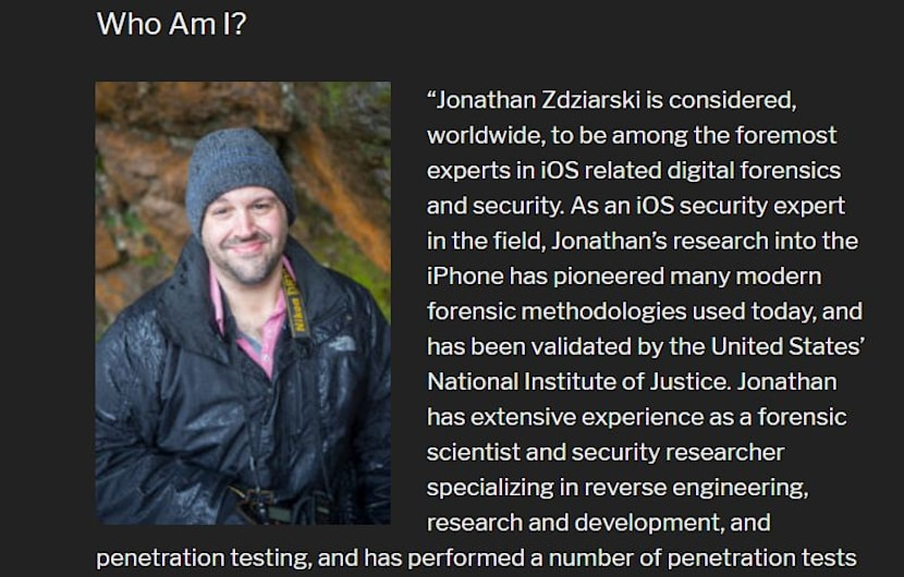 Apple holt iOS-Experten Jonathan Zdziarski ins Schlauchboot