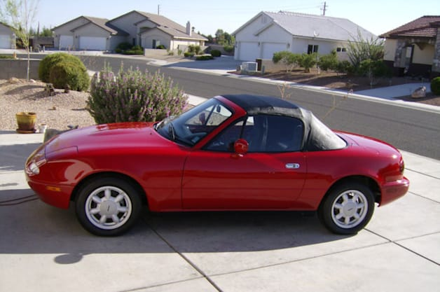 Ebay Find Of The Day 1990 Mazda Miata With Just 27