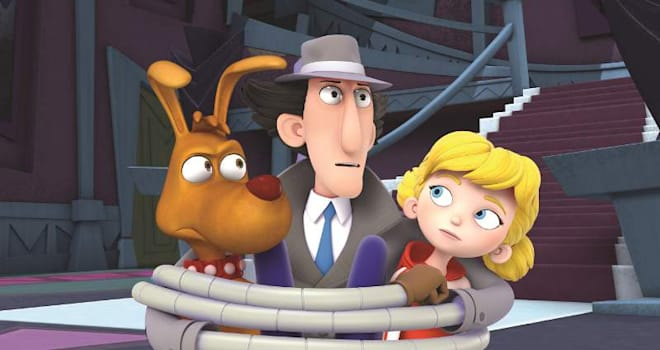 Everyone's favorite bumbling bionic detective, Inspector Gadget, is back with an all new series premiering on Netflix. Photo Credit: DHX Media (PRNewsFoto/Netflix, Inc.)