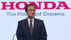 Honda CEO Takanobu Ito