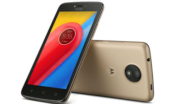 Cheapest of Moto, the Moto C checks in
