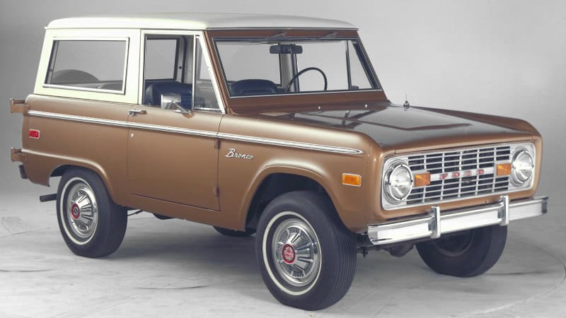 Could Ford Bronco be one of four new upcoming SUVs?