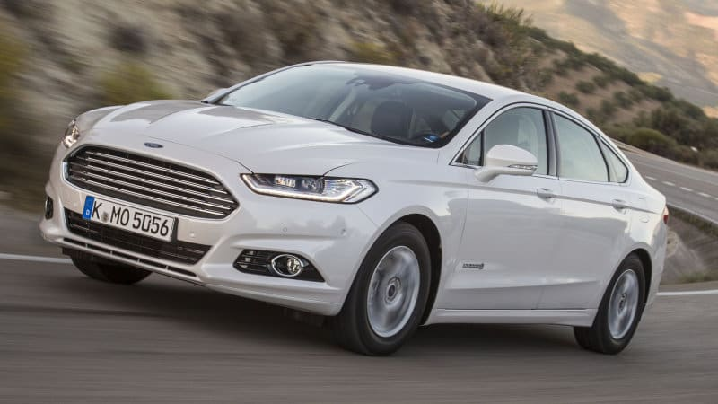 Ford wants 25% of models to be hybrids, plug-ins in China