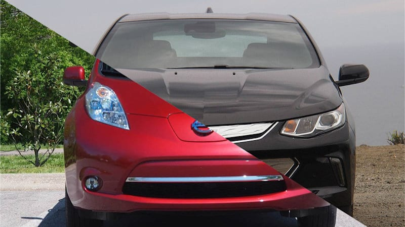 Can't stop: Chevy Volt sales still outpace Nissan Leaf