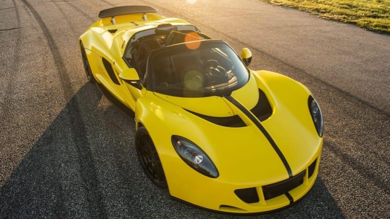 Hennessey Bringing 1,451 Hp Venom GT Spyder To SEMA