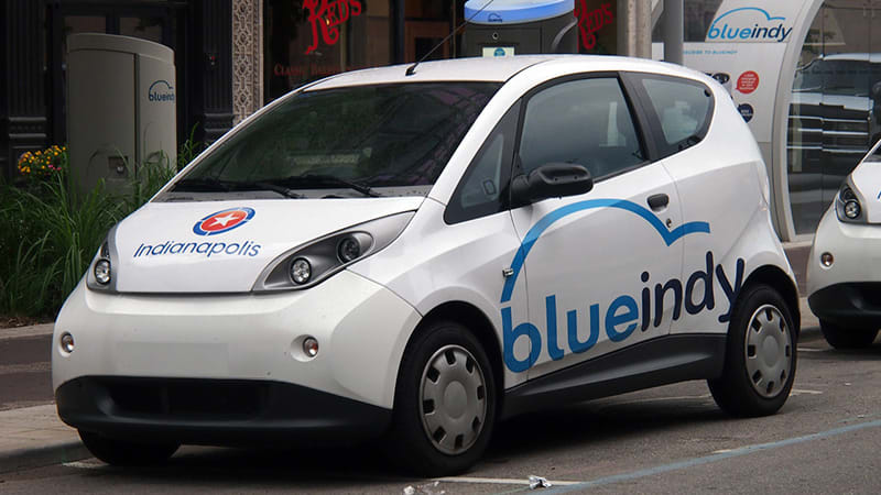 BlueIndy, Indianapolis strike deal to save EV carsharing service