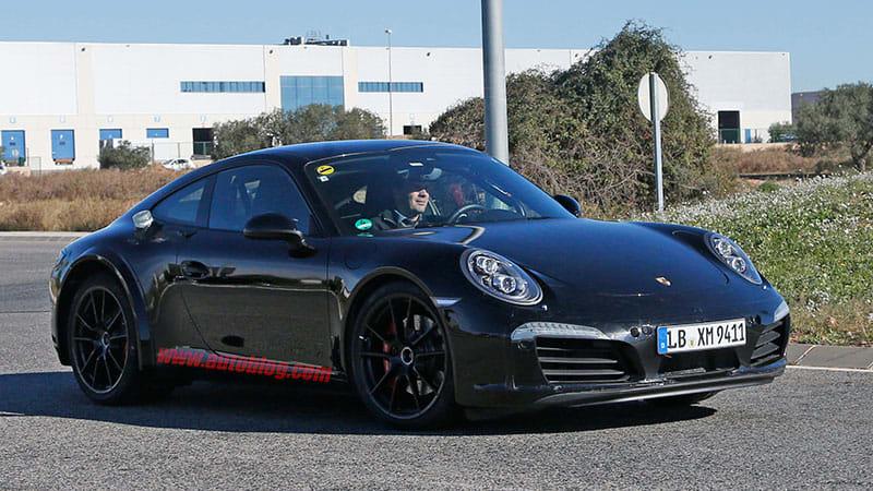 Porsche 911 spied looking like a Porsche 911
