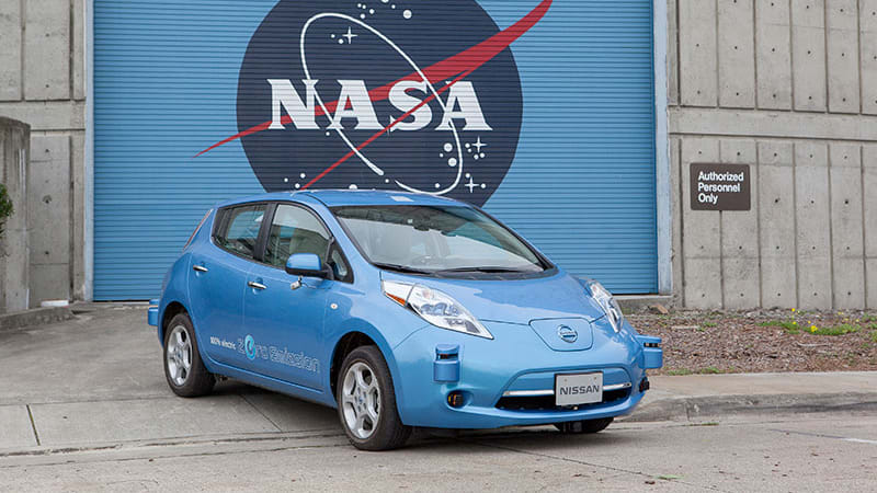 Nissan and NASA team up on autonomous zero-emissions test fleet