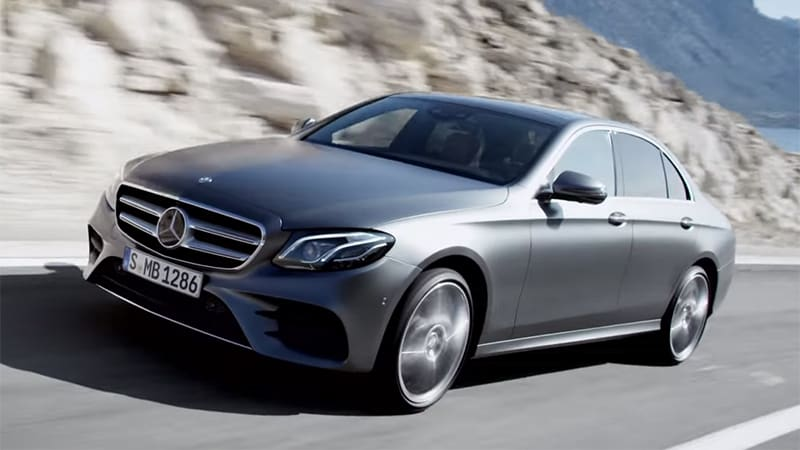 mercedes gets the 2017 e class on video autoblog. Black Bedroom Furniture Sets. Home Design Ideas