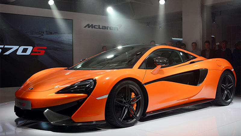 McLaren 570S GT and Spider on the way - Autoblog
