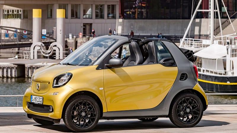smart shows off the fortwo cabriolet ahead of frankfurt. Black Bedroom Furniture Sets. Home Design Ideas
