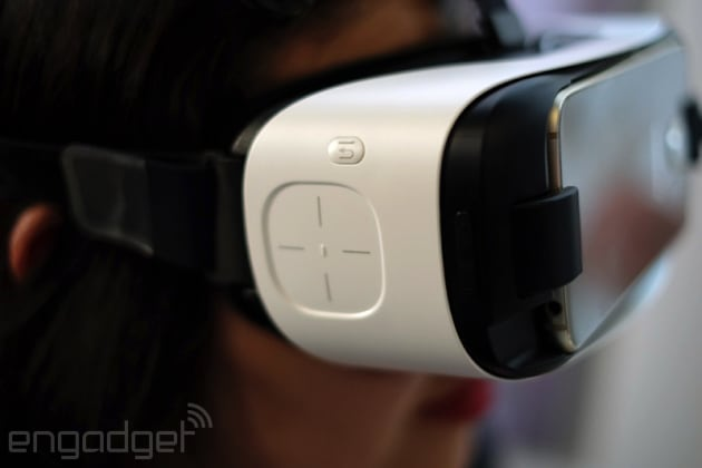 You can preorder Samsung's new Gear VR for Galaxy S6 on April 24