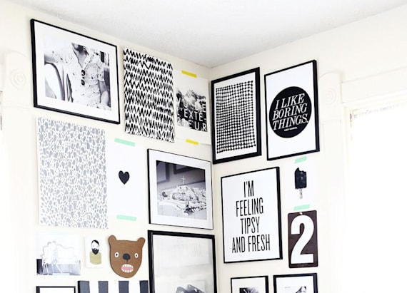 6 tips for hanging a chic gallery wall