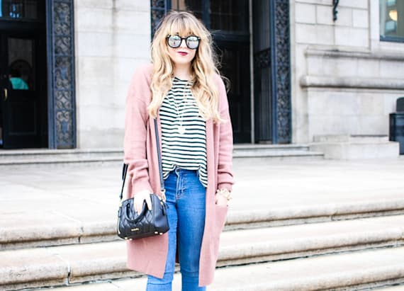 This is the comfiest and stylish look for fall