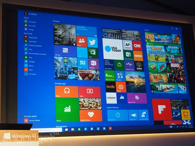 microsofts big promise with windows 10 is its ability to run apps across the entire platform the framework for these universal apps hasnt been described
