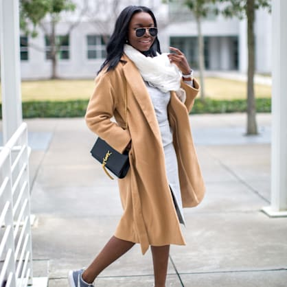 Street style tip of the day: Warm & cool neutrals