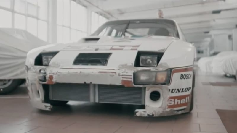 Porsche 924 GTP restored for coupe's 40th birthday