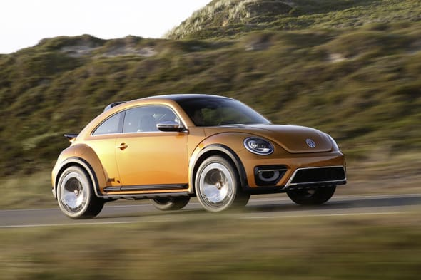 Baja Bug, breaking, Buggy, comeback, debüt, Detroit, premiere, Volkswagen, VW Buggy, VW Käfer, VW New Beetle Dune Concept, Cabriolet Serienmodell, VW new Beetle Dune, video, photos,