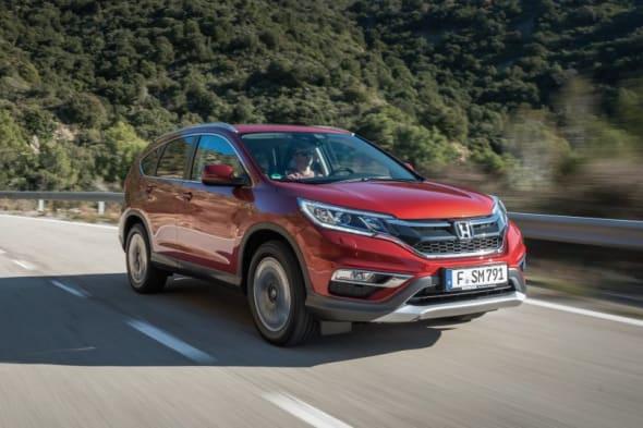 Markteinführung: Der neue Honda CR-V 2015