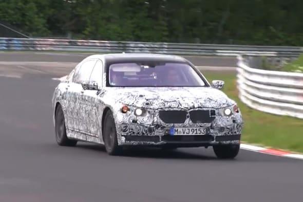 Erlkönig, spy shot, BMW 7er, 7er BMW, G11, BMW, 7er BMW 7, Prototyp, Video,  Nürburgring, testwagen, IAA 2015, IAA