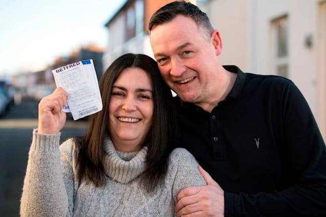 Couple find winning £66,000 New Year lottery ticket in bin 3 days after draw