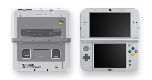 A Super Famicom-themed Nintendo 3DS is headed to Japan