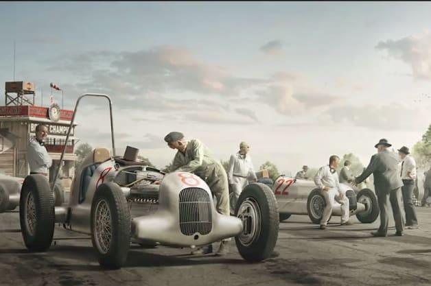 Mercedes composite images