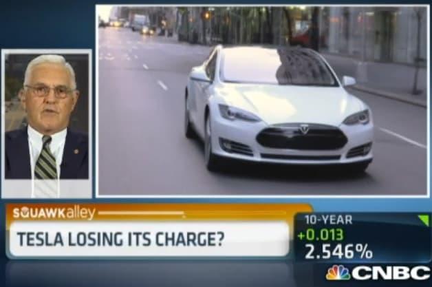 Bob Lutz calls Tesla a fringe company on CNBC