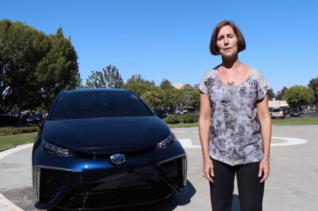Toyota Julie Hamp Hydrogen Fuel Cell #icebucketchallenge
