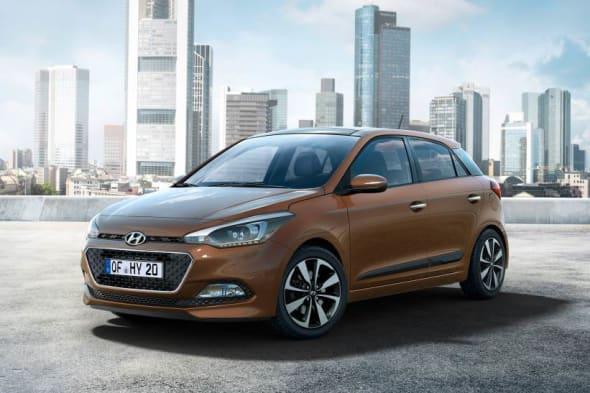Auto salon Paris, Bilder,  Facelift, Hyundai i20, Hyundai i20 2015, Mopf, Pariser Auto salon, revealed, der neue Hyundai i20, Premiere, fotos,