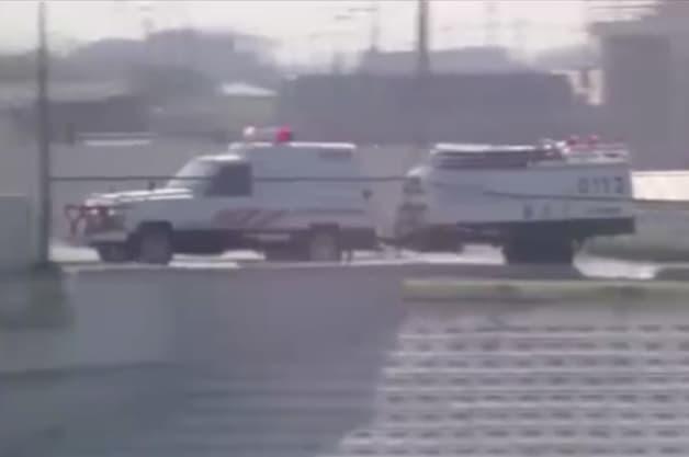 Nissan Safari Police Truck A Sort Of Team Van From Japan