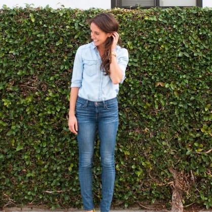 Street style tip of the day: Denim on denim