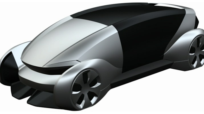VW electric vehicle patent drawing