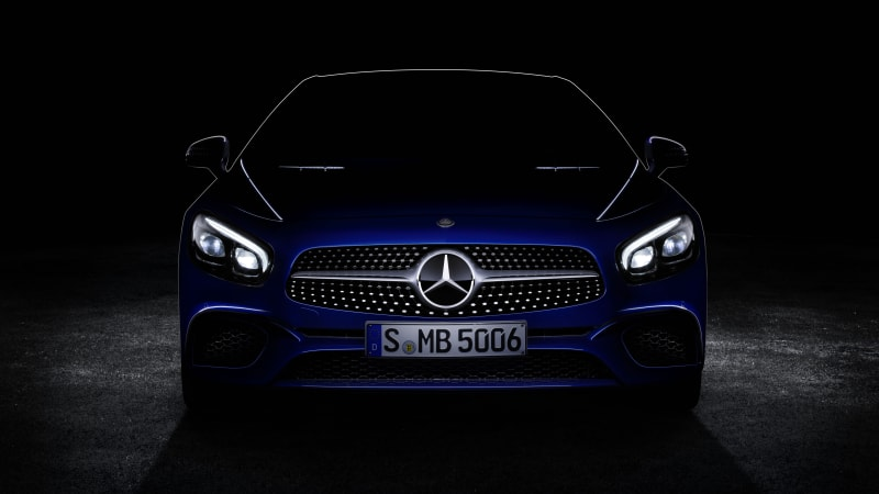 Mercedes-Benz teases SL-Class for LA Auto Show
