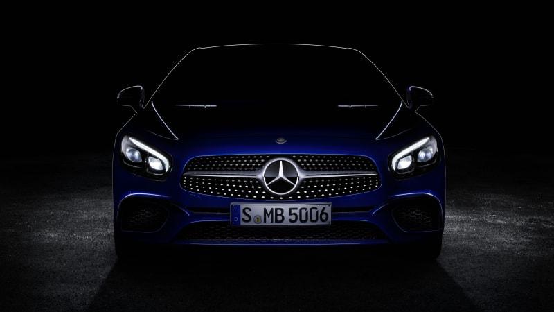 Mercedes-Benz teases SL-Class for LA Auto Show