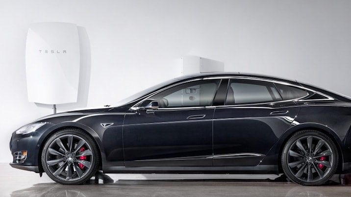 Tesla powerwall Model S