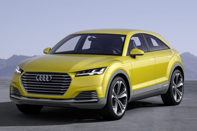 TT Offroad Concept shows Audi's design icon isn't afraid to play dirty