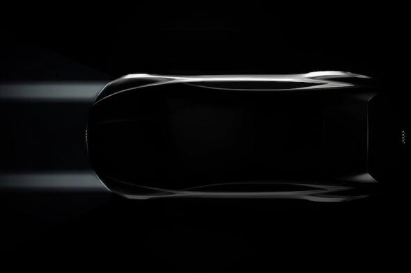 Die Audi Design-Studie auf der Los Angeles Auto Show.