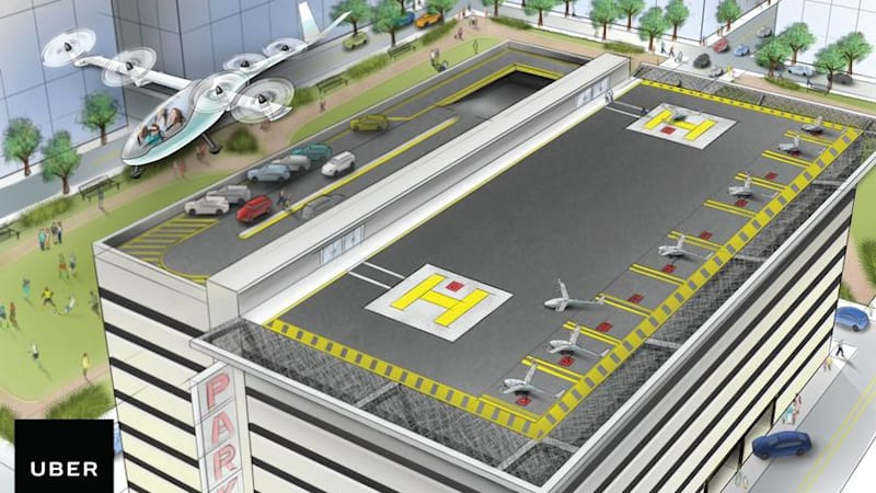 Uber is ready for a flying taxi future, if it ever happens