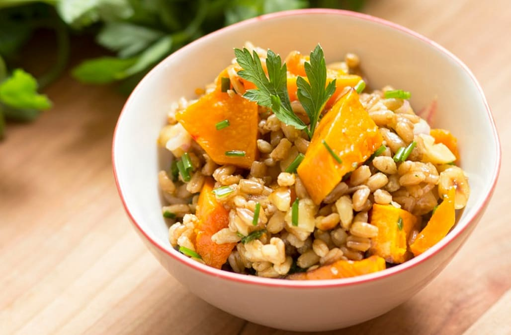 Farro and Butternut Squash Salad - AOL.com