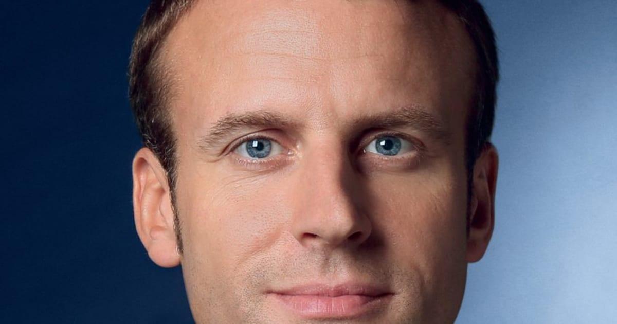 Emmanuel Macron dévoile son affiche de campagne pour le ...