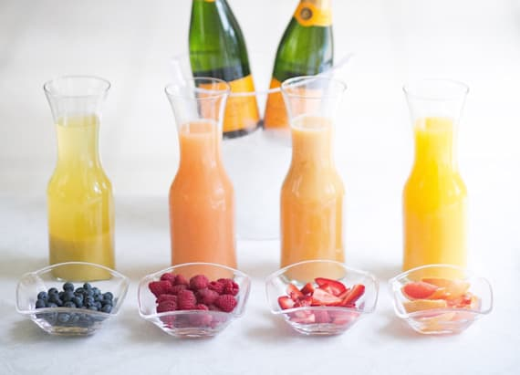 Create a DIY Mimosa Bar