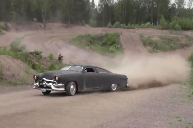 Watch this lead sled go rallying in Finland