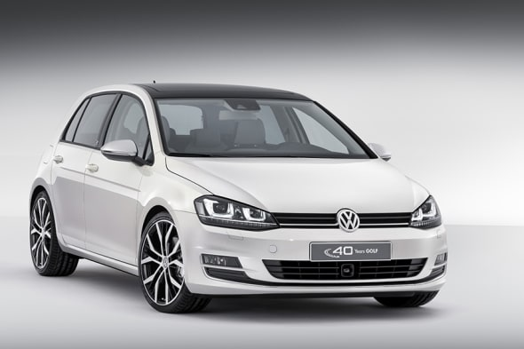 40 Jahre, 40 Jahre VW Golf, das auto, der Golf, Geburtstag, Golf 1, Golf II, Golf III, Golf IV, Golf V, Golf VI, Golf VII, Jubiläum, Modellgeschichte, Modellhistorie, Volkswagen, VW Golf, auto china, premiere, VW Golf Edition, VW Golf edition 40 Jahre, 40 years, VW Golf Sondermodell, editionsmodell