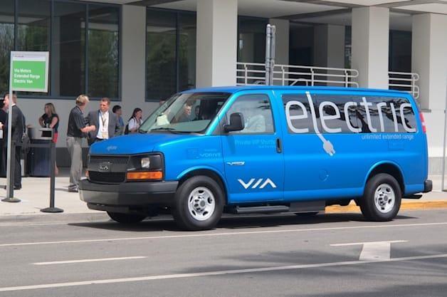 Plug In 2014: VIA PHEV Passenger Van