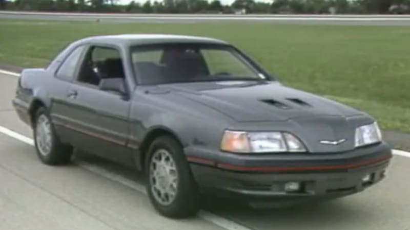 MotorWeek Remembers Pre EcoBoost Ford With The Thunderbird TurboCoupe